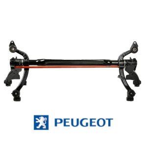 Hinterachse Peugeot 206 Schrägheck Trommel